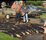 Alligator hunter Charlie LeDoux