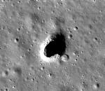 Lava tube on the moon