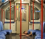 Asleep on the Tube