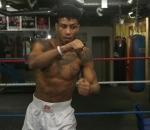 Professional boxer Kelvin Bilal Fawaz