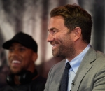 Eddie Hearn and Anthony Joshua