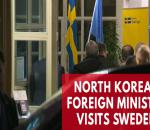 north-korean-foreign-minister-ri-yong-ho-arrives-in-sweden