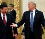 Donald Trump and China's President Xi Jinping