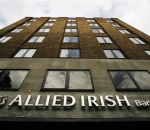 A branch of Allied Irish Bank is seen in London